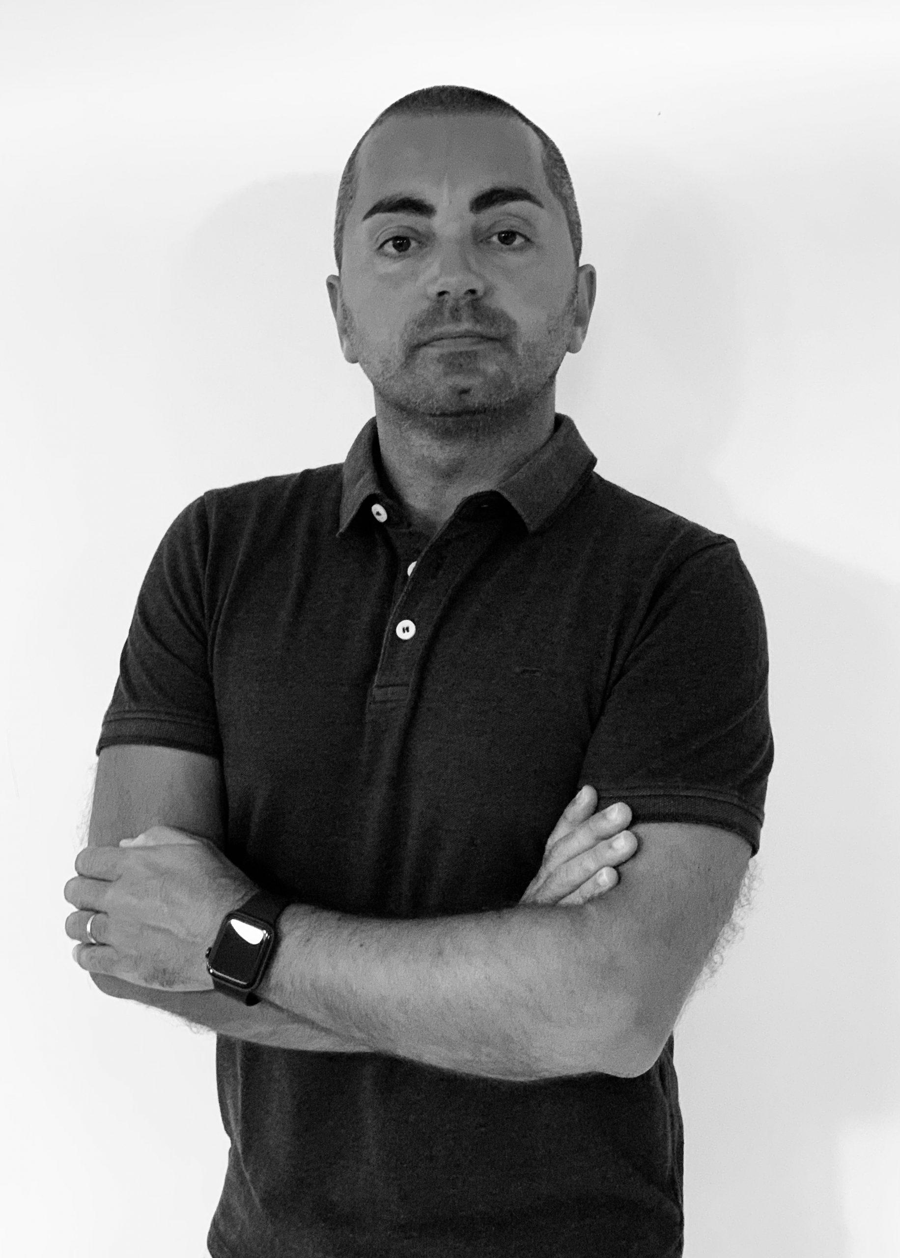 Andrea Stasio insegnante di danza all'Istituto superiore danza di Ariccia