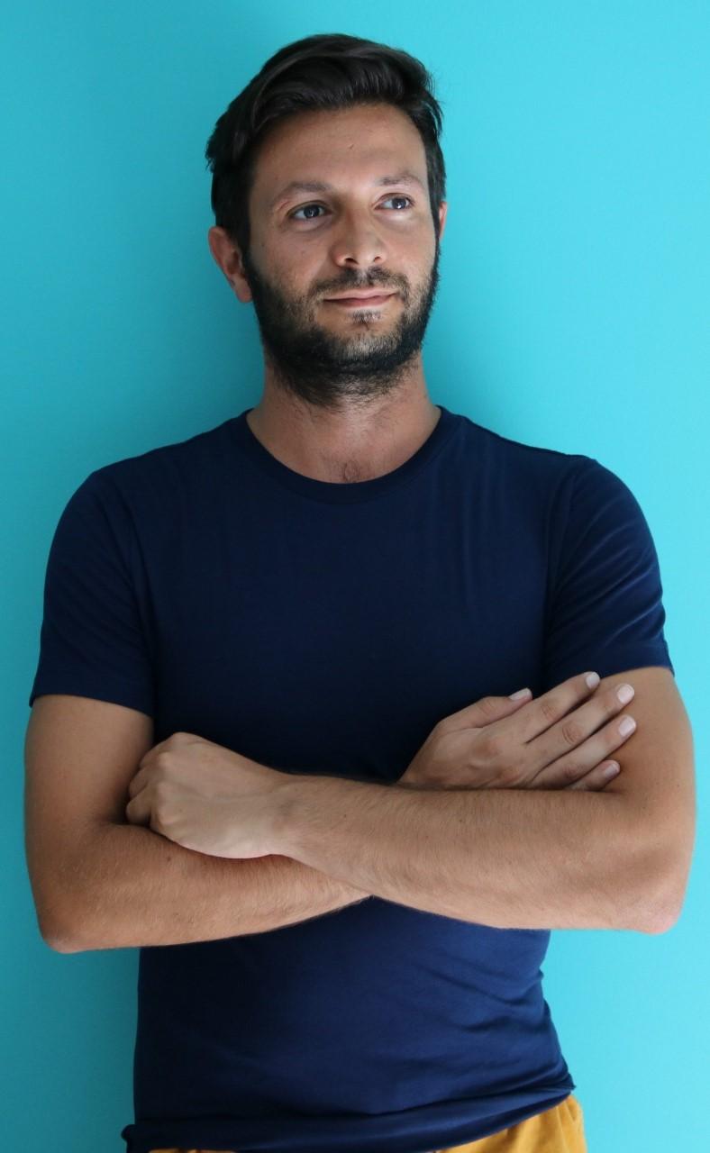 Francesco Ciani insegnante di danza all'Istituto superiore danza di Ariccia